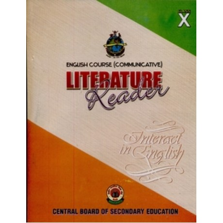 ENGLISH LITERATURE READER BOOK - CLASS 10