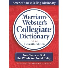 MERRIAM WEBSTER COLLEGIATE DICTIONARY