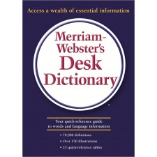 MERRIAM WEBSTER DESK DICTIONARY