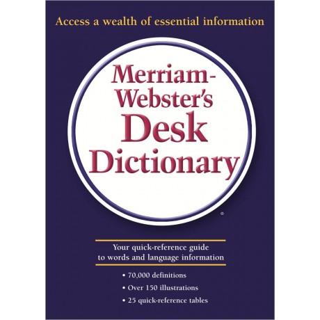 MERRIAM WEBSTER DESK DICTIONARY