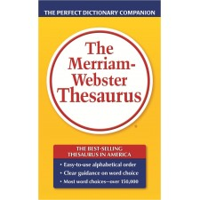 MERRIAM WEBSTER THESAURUS DICTIONARY