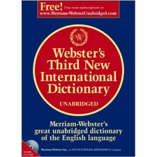 MERRIAM WEBSTER THIRD NEW INTERNATIONAL DICTIONARY