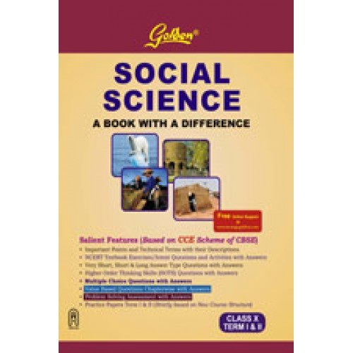 golden guide social science term 1 2 class 9 Common Core 8th Grade Science Science Icon