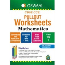 OSWAAL-PULLOUT WORKSHEETS MATHS CLASS 7