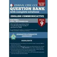 OSWAAL QUESTION BANK WITH COMPLETE SOLUTIONS ENGLISH CLASS 9 TERM 1